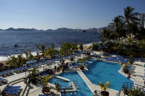отель Copacabana Beach Acapulco