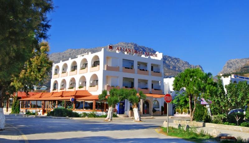 отель Aliantos Beach